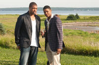 DeRay Davis as Malcolm and Pooch Hall as Ricky in