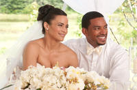 Paula Patton as Sabrina and Laz Alonso as Jason in
