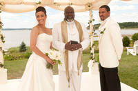 Paula Patton as Sabrina, TD Jakes as Reverend James and Laz Alonso as Jason in
