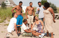 Brian Stokes Mitchel, Laz Alonso, Paula Patton, Loretta Devine, DeRay Davis, Romeo Miller and Mike Epps in