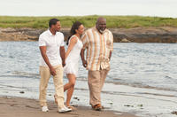 Laz Alonso as Jason, Paula Patton as Sabrina and TD Jakes as Reverend James in