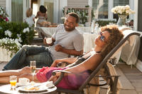 Mike Epps as Willie Earl and Valarie Pettiford as Geneva in