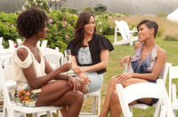 Tenika Davis as Lauren, Paula Patton as Sabrina and Meagan Good as Blythe in