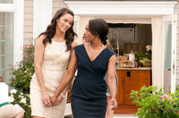 Paula Patton as Sabrina and Angela Bassett as Claudine in