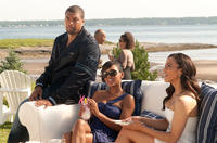 DeRay Davis as Malcolm, Meagan Good as Blythe and Paula Patton as Sabrina in