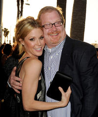Julie Bowen and producer Curtis Wallace at the California premiere of