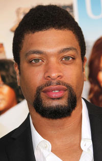 Deray Davis at the California premiere of