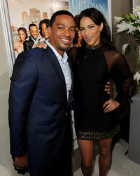 Laz Alonso and Paula Patton at the California premiere of