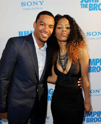 Laz Alonso and Teyana Taylor at the California premiere of