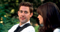 John Krasinski as Ethan and Ginnifer Goodwin as Rachel in
