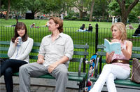 Ginnifer Goodwin as Rachel, Steve Howey as Marcus and Emily Giffin as A Stranger in