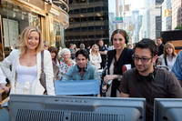 Kate Hudson, producer Aaron Lubin, producer Molly Mickler Smith and director Luke Greenfield on the set of