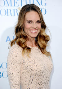 Hilary Swank at the premiere of