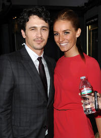 James Franco and KK at the California premiere of