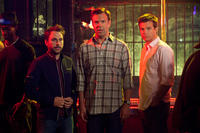 Charlie Day as Dale, Jason Sudeikis as Kurt and Jason Bateman as Nick in