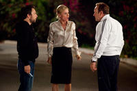 Charlie Day as Dale, Julie Bowen as Mrs. Harken and Kevin Spacey as Dave Harken in