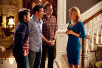 Charlie Day as Dale, Jason Bateman as Nick, Jason Sudeikis as Kurt and Julie Bowen as Mrs. Harken in