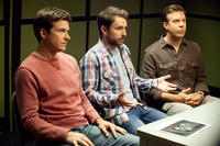 Jason Bateman as Nick, Charlie Day as Dale and Jason Sudeikis as Kurt in