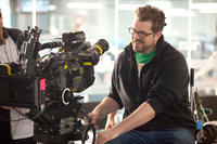 Director Seth Gordon on set of