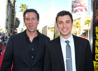 Writer Jonathan Goldstein and John Francis Daley at the California premiere of