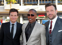 Jason Bateman, Jamie Foxx, and Jason Sudeikis at the California premiere of