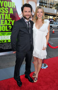 Charlie Day and Mary Elizabeth Ellis at the California premiere of
