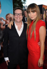 Director David Dobkin and Olivia Wilde at the California premiere of