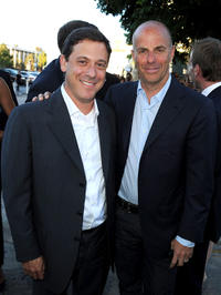 Universal Pictures chariman Adam Fogelson and producer Neal H. Moritz at the California premiere of