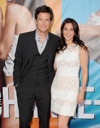 Jason Bateman and Amanda Anka at the California premiere of