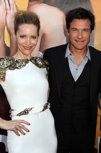Leslie Mann and Jason Bateman at the California premiere of