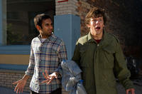 Aziz Ansari and Jesse Eisenberg in