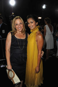 Executive producer Monica Levinson and Dilshad Vadsaria at the California premiere of