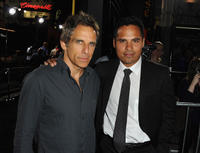 Producer Ben Stiller and Michael Pena at the California premiere of