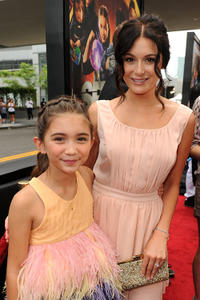 Rowan Blanchard and Alexa Vega at the California premiere of