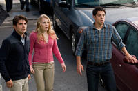 Miles Fisher as Peter, Emma Bell as Molly and Nicholas D'agosto as Sam in