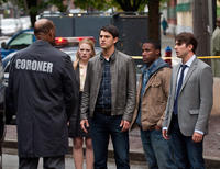 Tony Todd as Bludworth, Emma Bell as Molly, Nicholas D'agosto as Sam, Arlen Escarpeta as Nathan and Miles Fisher as Peter in