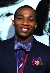 Arlen Escarpeta at the California premiere of