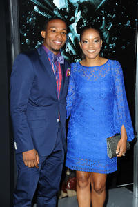 Arlen Escarpeta and Benita Krista Nall at the California premiere of