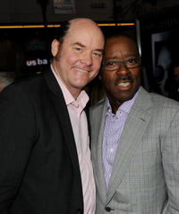 David Koechner and Courtney B. Vance at the California premiere of