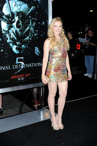 Emma Bell at the California premiere of