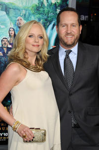 Marley Shelton and producer Beau Flynn at the California premiere of