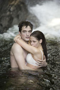 Robert Pattinson and Kristin Stewart in