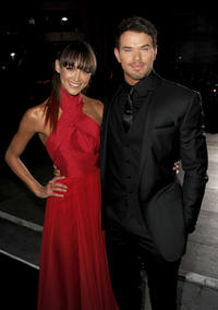Sharni Vinson and Kellan Lutz at the California premiere of