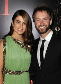 Nikki Reed and Paul McDonald at the California premiere of