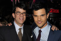 Producer Wyck Godfrey and Taylor Lautner at the California premiere of