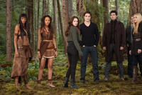 Judith Shekoni, Tracey Heggins, Kristen Stewart, Robert Pattinson, Christian Camargo, Peter Facinelli and Casey LaBow in