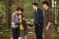 Kristen Stewart, Mackenzie Foy, Robert Pattinson and Taylor Lautner in