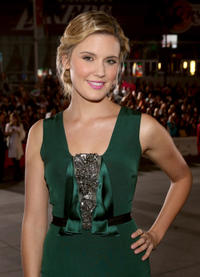 Maggie Grace at the California premiere of