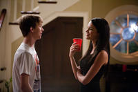 Thomas Mann as Thomas and Alexis Knapp as Alexis in