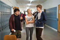 Jonathan Daniel Brown as JB, Kirby Bliss Blanton as Kirby and Thomas Mann as Thomas in